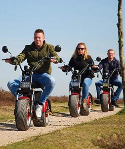 E-Chopper tour Volendam